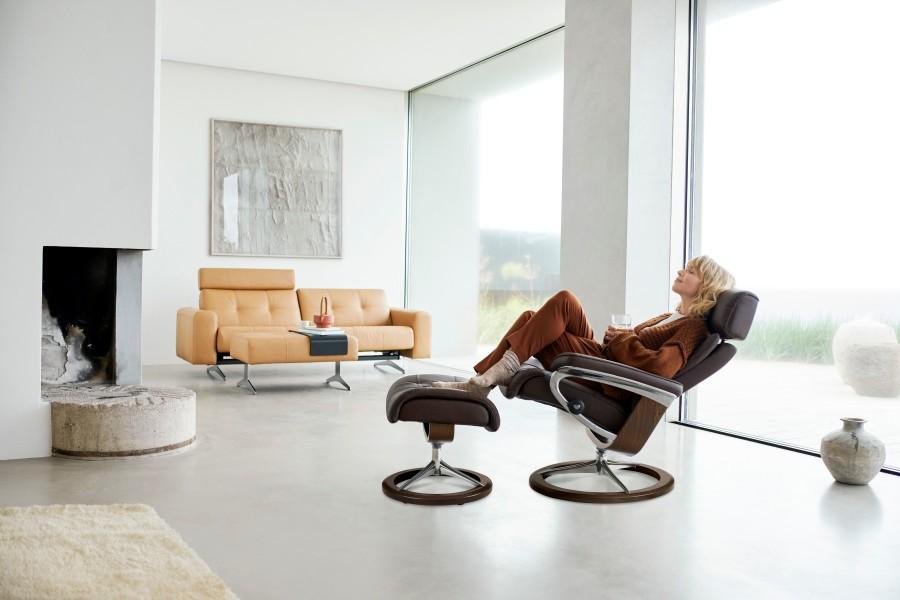 Stressless Möbel bieten Ihnen eine totale Entspannung.