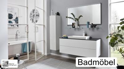 Badezimmermöbel die funktionell und bestechend schön sind erhalten Sie beim Einrichtungshaus Hansel auch von der Marke Interliving