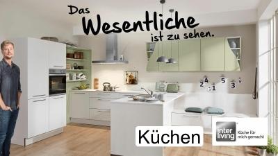 Die starke Marke Interliving für Küchen finden Sie im Einrichtungshaus Hansel. Wir sind nah bei Paderborn, Lippstadt und Gütersloh.