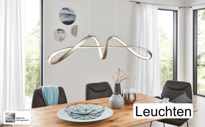 Diese Leuchten bringen nicht nur Licht sondern setzen auch einen optischen Akzent in Ihr Zuhause. Interliving bei Hansel macht es möglich.